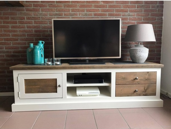 Steigerhouten Tv Meubel Levi